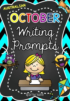Monthly Writing Prompts ~ AUSTRALIAN OCTOBER