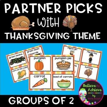 Partner Picks (Thanksgiving Theme)