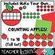 Apple Ten Frames & Counting * Math TEMPLATES KIT