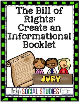 Bill of Rights Project: Create a Booklet or Photo Story Video