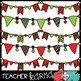 Christmas DOODLE Buntings - Holiday Banners