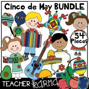 Cinco de Mayo Clipart BUNDLE * Seller's Kit * Mexico