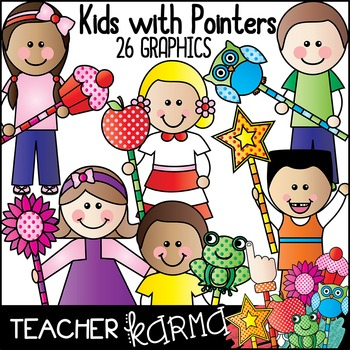 Kids with Pointers * Highlight Text
