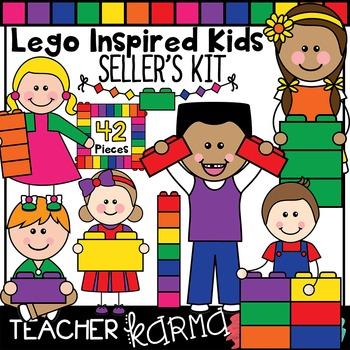 Lego Inspired Kids SELLER'S KIT / Math & Reading