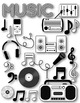 Music Clipart ~ Commercial Use OK ~ Choir