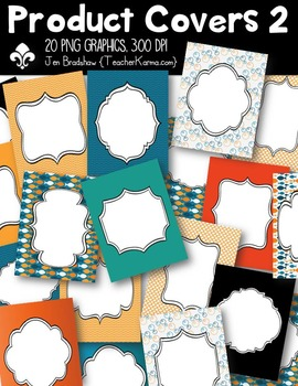 Product Covers #2 for Sellers Clipart ~ Commercial Use OK