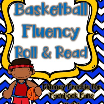 {5000 Facebook Follower FREEBIE} Basketball Fluency Roll &