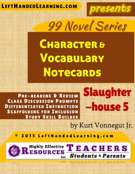 {99 Novel} Slaughterhouse 5 by Kurt Vonnegut Character & V