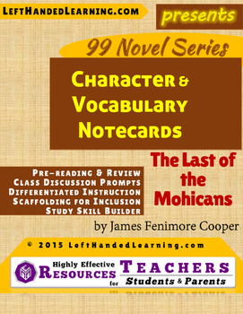 {99 Novel} The Last of the Mohicans by James Fenimore Coop