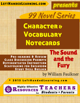{99 Novel} The Sound and the Fury by William Faulkner Refe