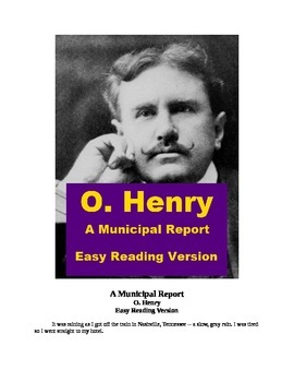 """A Municipal Report"" Mp3 and Easy Reading text"