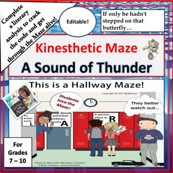 A Sound of Thunder by Ray Bradbury Kinesthetic Maze