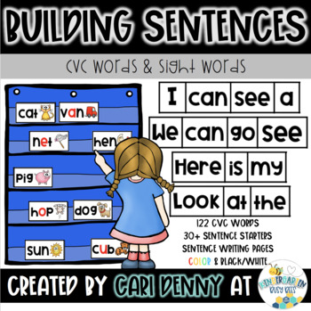 -AN Word Family Sentence Building