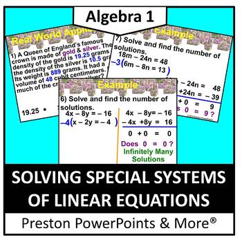 (Alg 1) Solving Special Systems of Linear Equations in a P