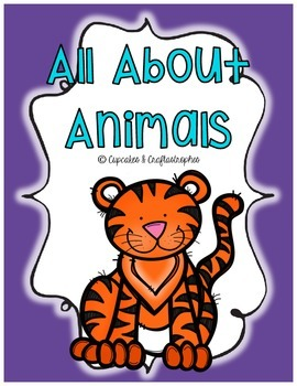 {{All About ANIMALS!}} Sorting Cards, Activities, Workshee