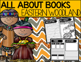 """All About"" Books:  Eastern Woodlands Native American Tribe"
