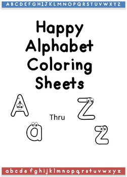 /Alphabet Coloring Sheets