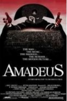 """Amadeus"" Movie worksheet"