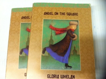 """""""Angels on the square"""" books, by Gloria Whelan - Literatur"""