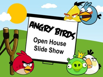 ~Angry Birds~ Open House Slide Show