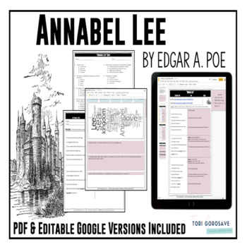 "Poetry Lesson: ""Annabel Lee"" by Edgar A. Poe {Google Digit"