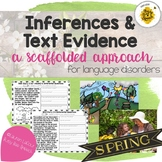 Spring Inferences & Text Evidence
