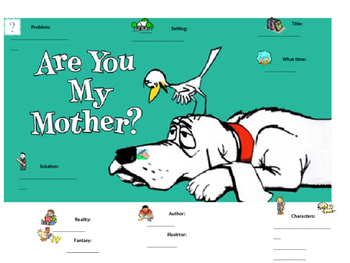 """""""Are You My Mother"""" Graphic Organizers"""