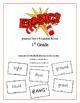 """BANG!"" 1st Grade Houghton Mifflin Journeys Unit 6 Vocabul"