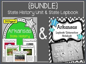 {BUNDLE} Arkansas State History Unit and Arkansas State La