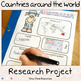 [BUNDLE]Countries around the world: a research project + m