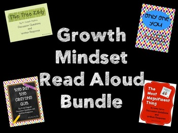 {BUNDLED} Growth Mindset Read Alouds