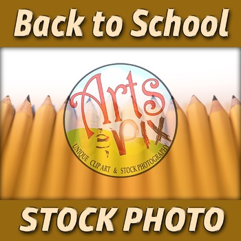 """! """"Back to School"""" Photograph - Title Background Stock Pho"""
