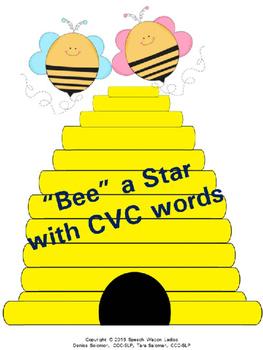 """Bee"" a Star with CVC words"