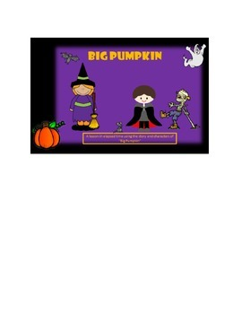 "Fun with Time:  ""Big Pumpkin"" Elapsed Time Halloween Activity"