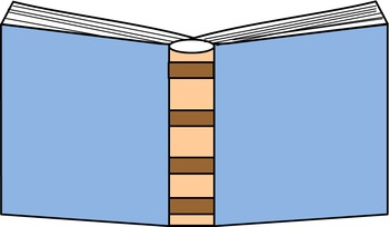 ~Book Clip Art~ 34 Different Colors of an Open Book!!
