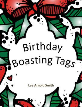Monthly Birthdays Brag Tags