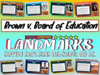 -Brown v. Board of Education- Landmark Supreme Court Case