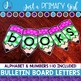 ~*Bulletin Board Letters: Green Pencils
