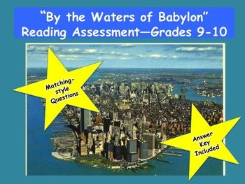 """""""By the Waters of Babylon"""" Reading Assessment—Grades 9-10"""