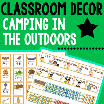 ~ Camping Classroom Theme ~ 235 Pages