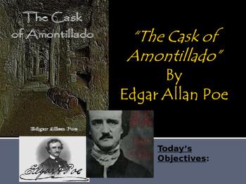 """""""Cask of Amontillado"""" By Edgar Allan Poe"""