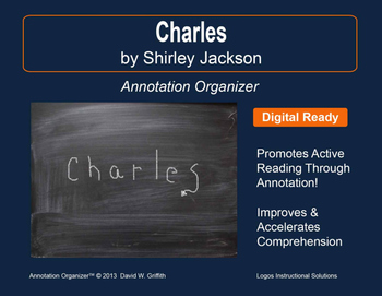 """Charles"" by Shirley Jackson: Annotation Organizer"