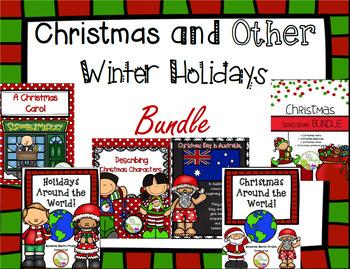Christmas and Winter Holidays BUNDLE