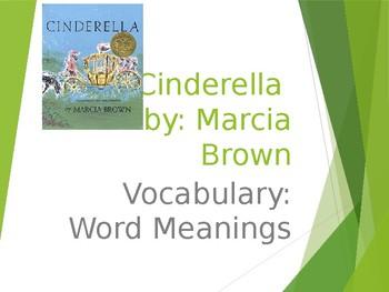 """""""Cinderella"""" Guidebook Unit: Vocabulary"""