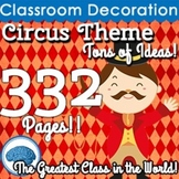 ~ Circus Classroom Theme ~ 332 Pages