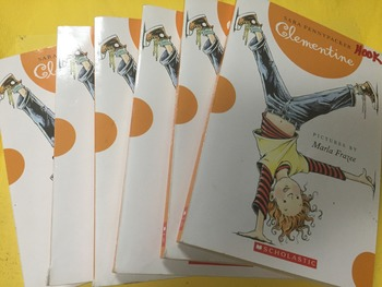 """Clementine"" books, by Sara Pennypacker - Literature Circle Set"
