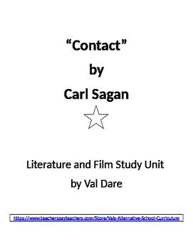 """Contact"" (Carl Sagan) Literature and Film Study (2016)"