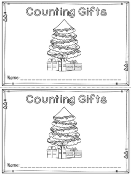 """""""Counting Gifts"""" Emergent Reader (A Christmas/December Dol"""