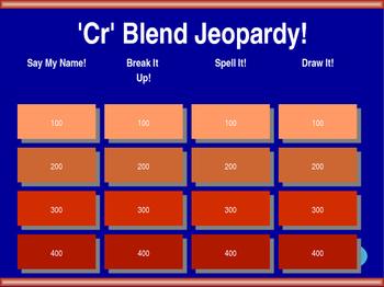 'Cr' Blend Jeopardy!