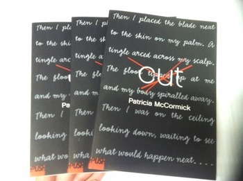 """Cut"" books, by Patricia McCormick - Literature Circle Set"
